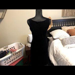 Women's Hennes Purple velvet dress size small